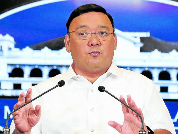 Secretary Harry Roque