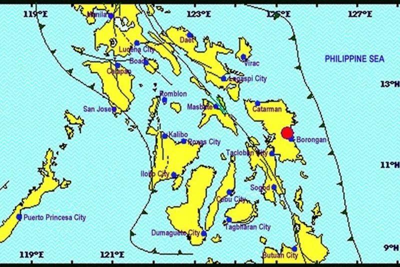 Bicol and Visayas earthquake