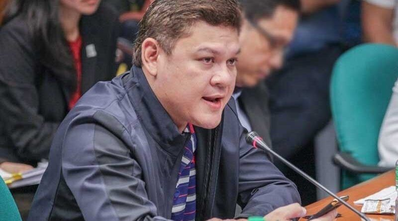 Davao Rep. Paolo Duterte sa Senate hearing