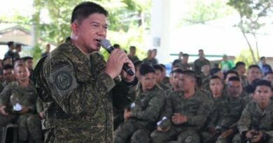 AFP chief of staff Lt. Gen. Gilbert Gapay