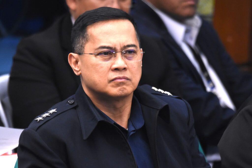 PNP Chief PGen. Archie Francisco Gamboa