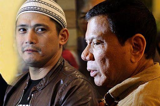 Robin Padilla, advised government critics
