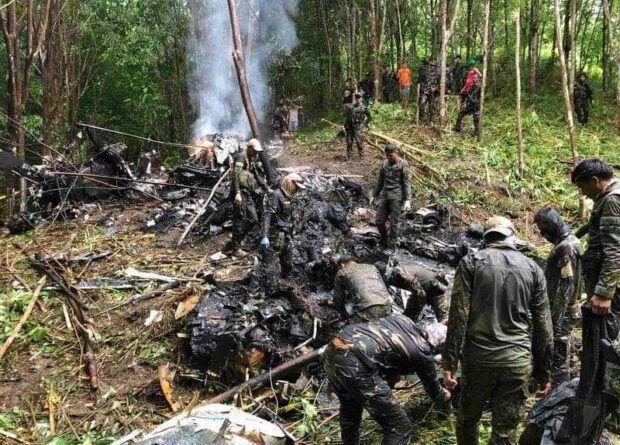 Basilan Helicopter Crash