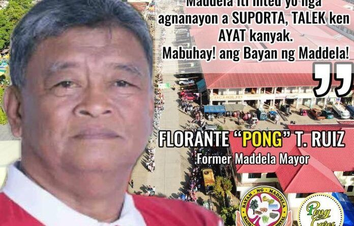 Mayor Florante Ruiz of Maddela Quirino