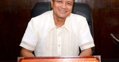 Occidental Mindoro Gov Eduardo Gadiano