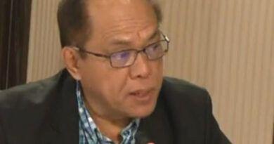 former National Bureau of Investigation (NBI) Director Dante Guierran