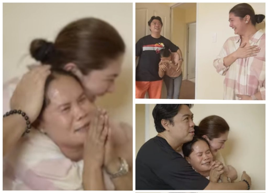 Dimples surprise their maid a townhouse as a gift: She did not leave us