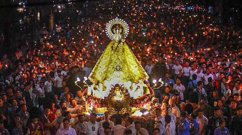 Our Lady of La Naval de Manila Procession
