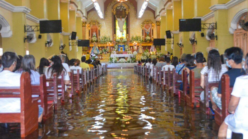 , The Filipino Faith is waterproof!