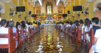 , The Filipino Faith is waterproof!