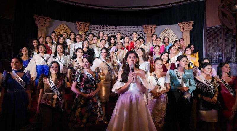 Miss Universe Philippines Press Presentation