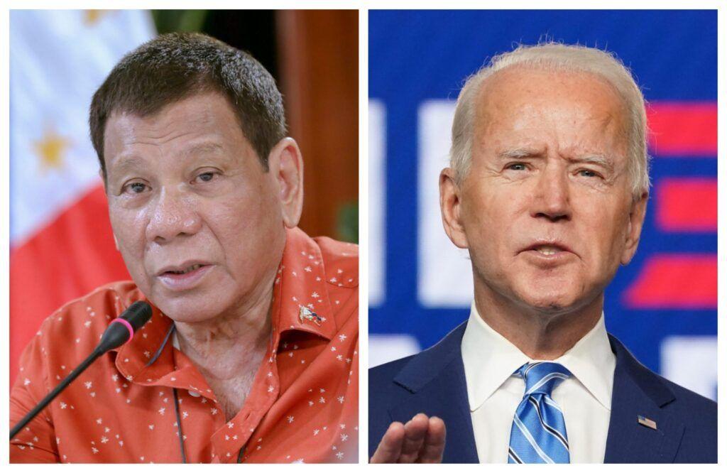President Duterte and President Biden
