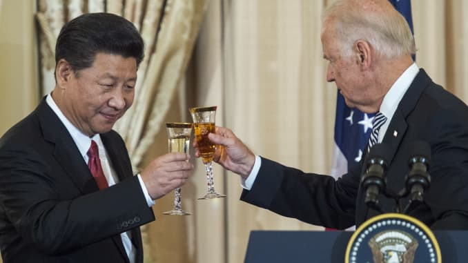Jinping and Biden