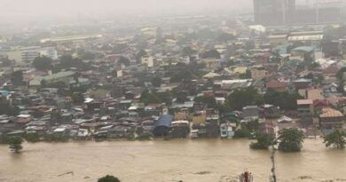 Water level in Marikina River surpassed Ondoy level