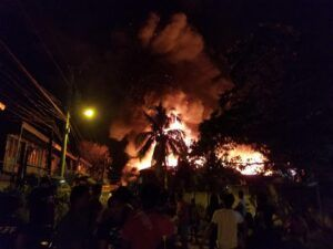 Big money saved by BFP in burned warehouse in Davao; almost P10-M damages
